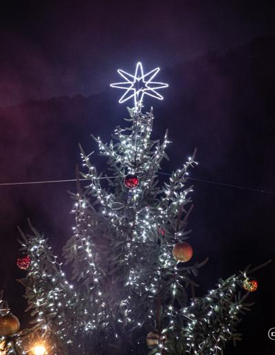 Accensione albero di Natale al Lungo lago di Porlezza